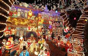 christmas decorations in england