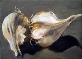 garlic paintings
