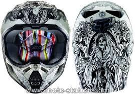 casque moto cross fox