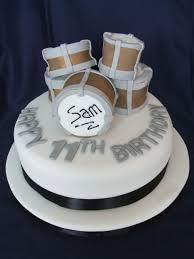 drums cake