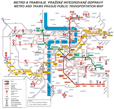 prague trams map