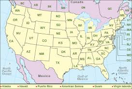 map of usa canada