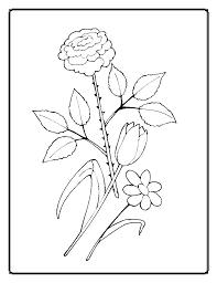 imagini de colorat cu flori