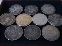 japanese silver coins