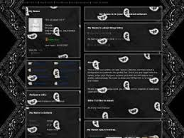 black bandanas layouts