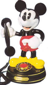mickey telephone