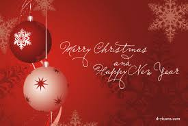happy christmas and happy new year