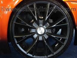 alloys on car