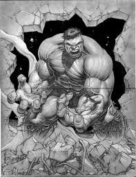 hulk art