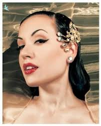 jeweled hair clip