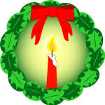 advent wreath clip art