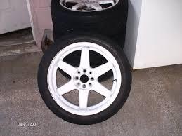 17 inch white rims