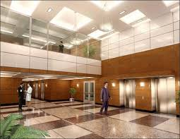 office lobby design