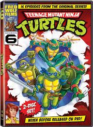 ninja turtles dvds