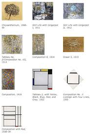 mondrian artwork