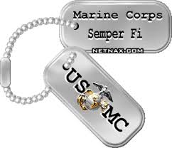 marine corp dog tags