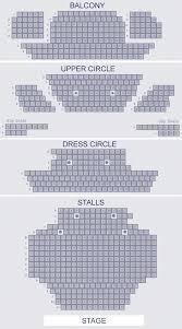 lyric theatre seat plan