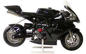 black pocket bike