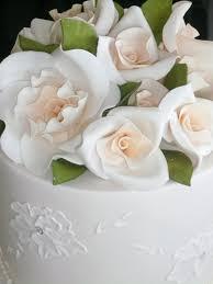 fondant wedding cakes pictures