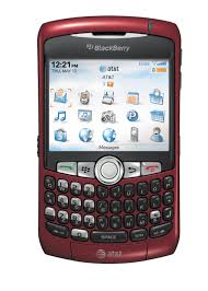 blackberry 8300 red