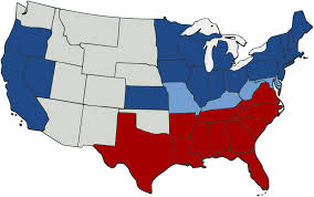 civil war america map
