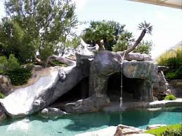 pools with slide