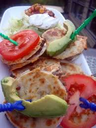 mini quesadillas