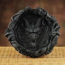 dragon ashtrays
