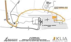 lcct airport map
