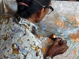 making batik