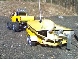 remote control boat trailer