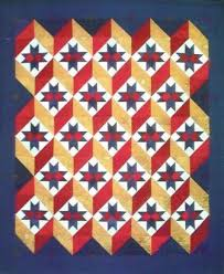 red white blue quilt