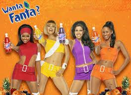 fanta soda girls