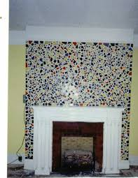 fireplace mosaic