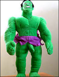 incredible hulk doll
