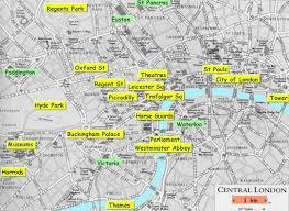 london train station map