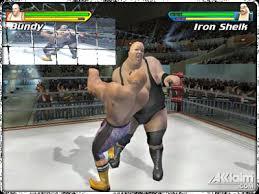 playstation 2 wrestling