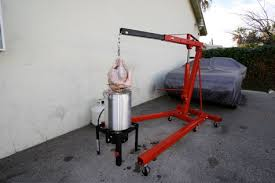 deep frying turkeys