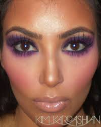 purple makeup looks