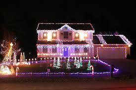 christmas house lighting