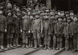 black coal miners