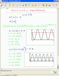 calculus equations