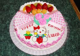 birthday cake design for kids