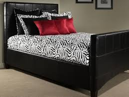 black and white zebra print comforter