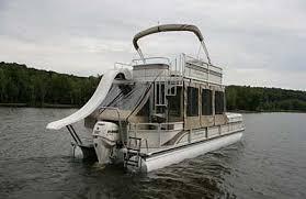 luxury pontoon boats