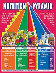 nutrition pyramid chart