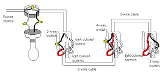 four way light switch