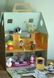 paper dolls houses