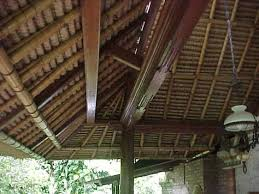 balinese roof