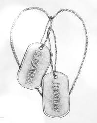 dog tag tattoo designs